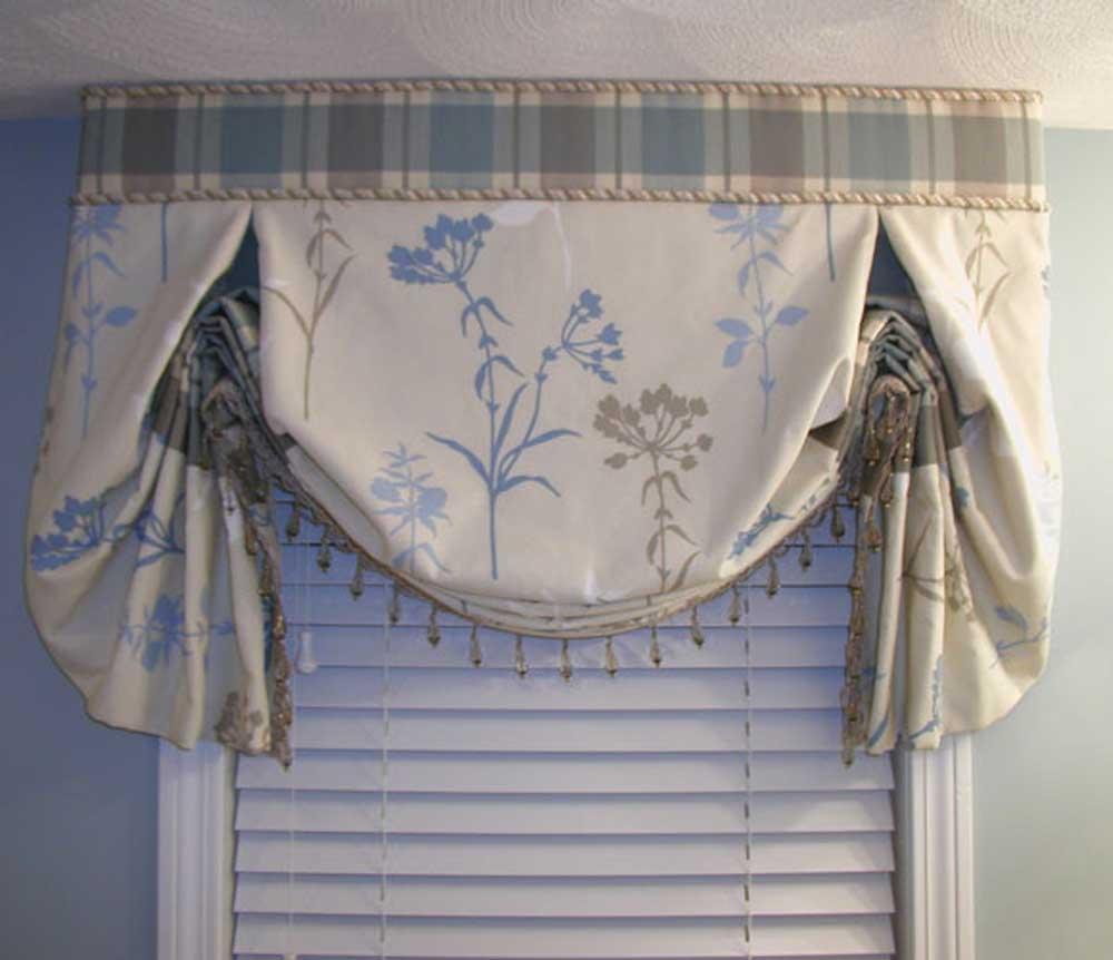 Сшить шторы в английском стиле своими руками